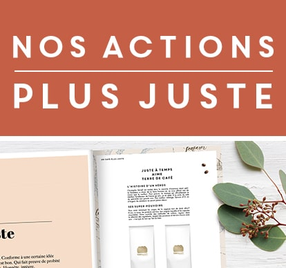 nos actions plus juste